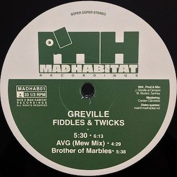 "Greville: Fiddles & Twicks [12""]"