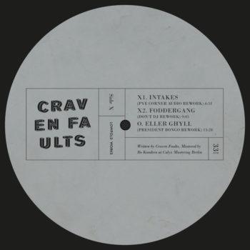 """Craven Faults: Lowfold Reworks – incl. remix par Pye Corner Audio [12""""]"""