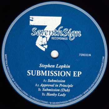 "Lopkin, Stephen: Submission EP [12""]"