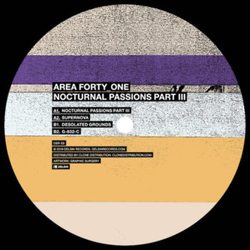 "Area Forty_One: Nocturnal Passions Part III [12""]"