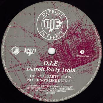 """D.I.E.: Detroit Party Train [12""""]"""