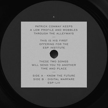 "Conway, Patrick: Know The Future / Digital Warfare [12""]"