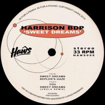 "Harrison BDP: Sweet Dreams EP [12""]"