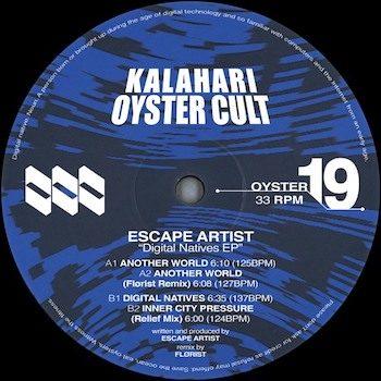 """Escape Artist: Digital Natives - incl. remix par Flørist [12""""]"""