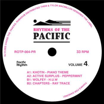 "variés: Rhythms Of The Pacific Volume 4 [12""]"