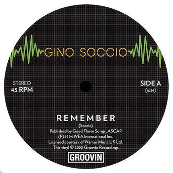 """Soccio, Gino: Remember / Dream On [12""""]"""