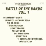 variés: Wick Records Presents Battle of the Bands Vol. 1 [LP coloré]