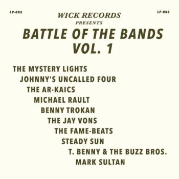 variés: Wick Records Presents Battle of the Bands Vol. 1 [LP coloré]