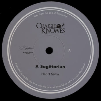 """A Sagittariun: Live From The Sea Of Tranquility [12""""]"""