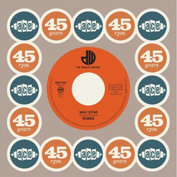 "Rubba / The Roger Webb Sound: Way Star / Moon Bird [7""]"