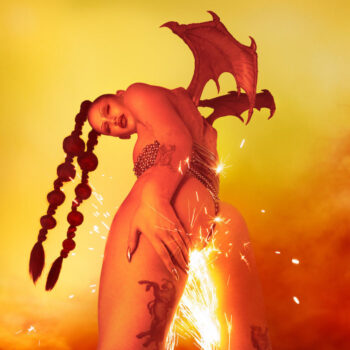 Eartheater: Phoenix: Flames Are Dew Upon My Skin [LP rouge]