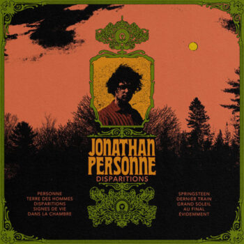 Jonathan Personne: Disparitions [CD]