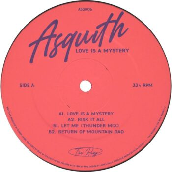 """Asquith: Love Is A Mystery EP [12""""]"""