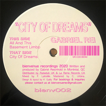 "Rei, Gabriel: City of Dreams [12""]"