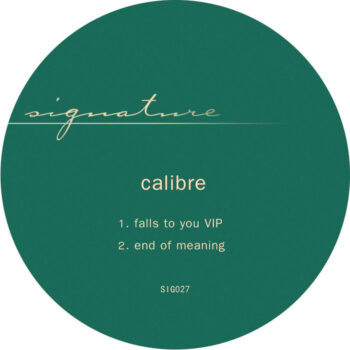"""Calibre: Falls To You VIP / End of Meaning [12""""]"""