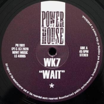 """WK7: Wait [12""""]"""