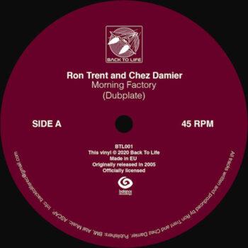 "Trent & Chez Damier, Ron: Morning Factory (dubplate) [12""]"