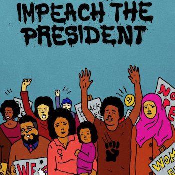 "Sure Fire Soul Ensemble & Kelly Finnigan: Impeach The President [7"" bleu]"