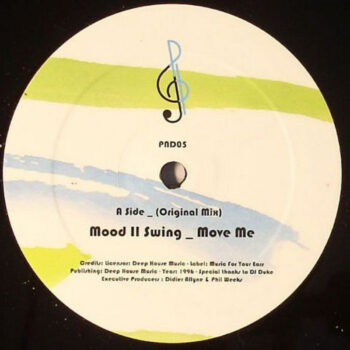 "Mood II Swing: Move Me / Alternate Mix [12""]"