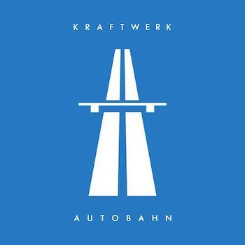 Kraftwerk: Autobahn [LP bleu]