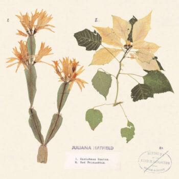 """Hatfield, Juliana: Christmas Cactus / Red Poinsettia [7"""", vinyle coloré]"""
