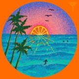 variés: Jazz Dispensary: Orange Sunset [LP coloré]