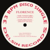 "Florence: The Vineyard — incl. remixes par Convextion & Peter Ford [12""]"