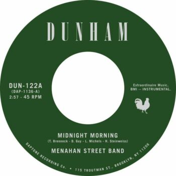 "Menahan Street Band: Midnight Morning / Stepping Through Shadow [7""]"