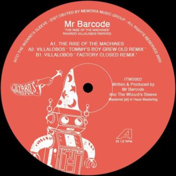"Mr. Barcode: The Rise of the Machines — incl. remixes par Ricardo Villalobos [12""]"