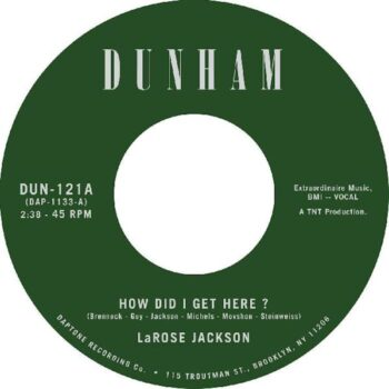 "Jackson, LaRose: How Did I Get Here? [7""]"
