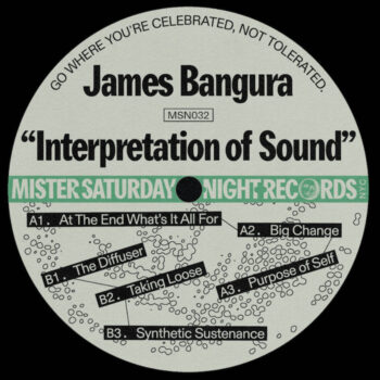 "Bangura, James: Interpretation of Sound [12""]"