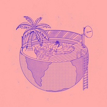 "Tilman x Rhode & Brown: Three Of Us EP [12"" pourpre]"
