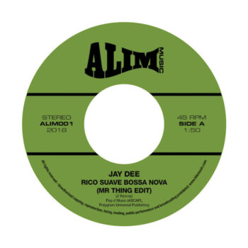 "Jay Dee: Rico Suave Bossa Nova (Mr Thing Edit) / Come Get It [7""]"