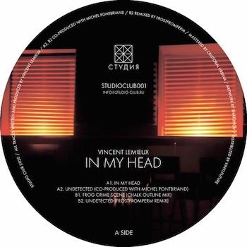 """Lemieux, Vincent: In My Head [12""""]"""