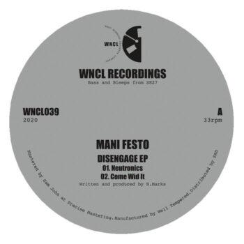 "Mani Festo: Disengage EP [12""]"