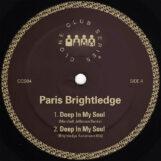 """Brightledge, Paris: Deep In My Soul — incl. remix par Marshall Jefferson [12""""]"""