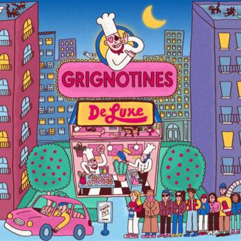 FouKi: Grignotines de Luxe [LP, vinyle marbré blanc 180g]