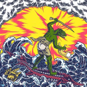 King Gizzard And The Lizard Wizard: Teenage Gizzard [LP, vinyle coloré]