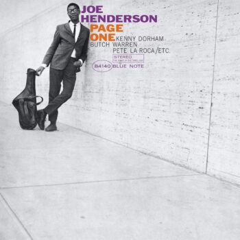 Henderson, Joe: Page One — édition 'Blue Note Classic Vinyl' [LP]