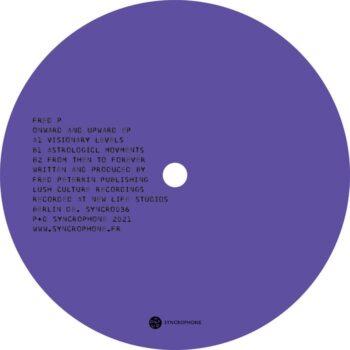 "Fred P: Onward & Upward EP [12""]"
