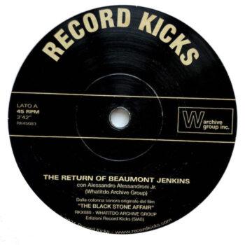 "Whatitdo Archive Group: The Return of Beaumont Jenkins / La Pietra [7""]"