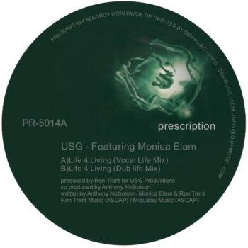 """USG & Monica Elam: Live 4 Living [12""""]"""