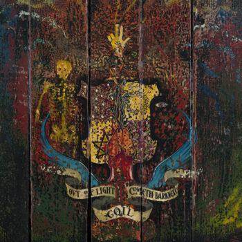 Coil: Love's Secret Domain — édition régulière 30e anniversaire [LP, vinyle rouge]