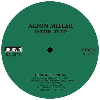 "Miller, Alton: Jazzin' It Up [12""]"