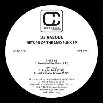 "DJ Rasoul: Return Of The Mad Funk EP [12""]"