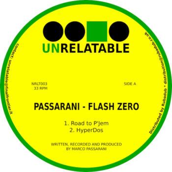 """Passarani: Flash Zero [12""""]"""