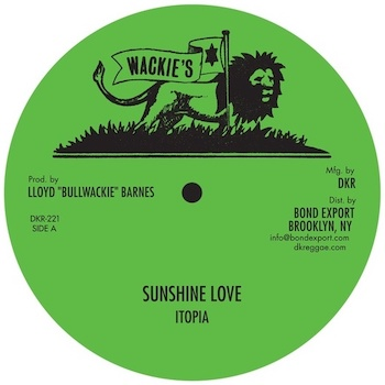 """Itopia: Sunshine Love / Keep a Rocking / Get Over [12""""]"""