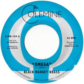 "Black Market Brass: Omega / Maraka [7"", vinyle coloré]"