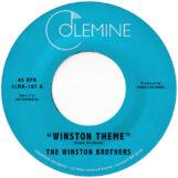 "Winston Brothers: Winston Theme / Boiling Pot [7"", vinyle orange clair]"
