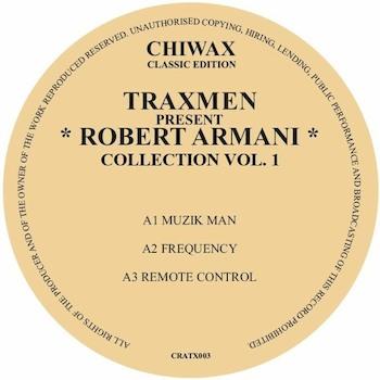 "Traxmen & Robert Armani: Traxmen present Robert Armani Collection Vol. 1 [12""]"